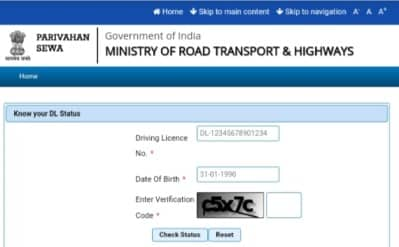 Driving License Status Apps