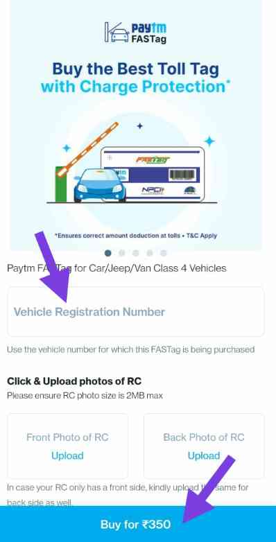 Paytm Fastag Recharge Kaise kare